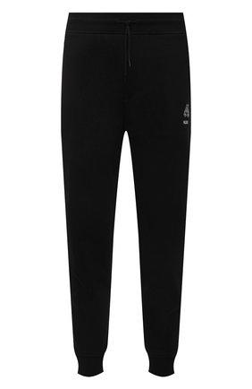 Мужские хлопковые джоггеры HUGO черного цвета, арт. 50452628 | Фото 1 (Силуэт М (брюки): Джоггеры; Стили: Спорт-шик; Материал внешний: Хлопок; Длина (брюки, джинсы): Стандартные; Мужское Кросс-КТ: Брюки-трикотаж)
