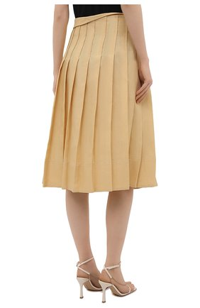 Женская льняная юбка JACQUEMUS  цвета, арт. 211SK05/101230   Фото 4