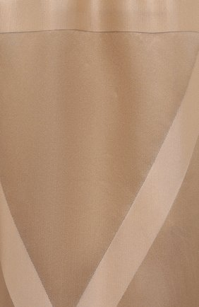 Женские шелковые брюки TOTÊME светло-коричневого цвета, арт. 212-255-724 | Фото 5