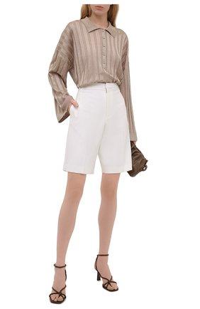 Женский пуловер из вискозы TOTÊME светло-коричневого цвета, арт. 212-570-760 | Фото 2