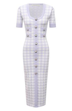 Женское платье ALESSANDRA RICH сиреневого цвета, арт. FAB2439-K3214   Фото 1