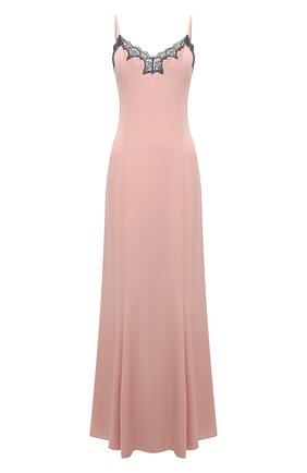 Женская шелковая сорочка LA PERLA светло-розового цвета, арт. 0051800 | Фото 1