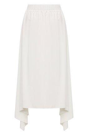 Женская юбка из вискозы 5PREVIEW белого цвета, арт. 5PW21107 | Фото 1