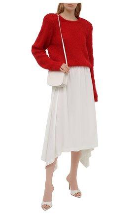 Женская юбка из вискозы 5PREVIEW белого цвета, арт. 5PW21107 | Фото 2
