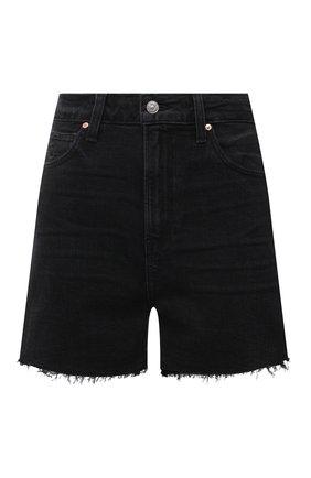 Женские джинсовые шорты PAIGE черного цвета, арт. 6234B80-2710 | Фото 1