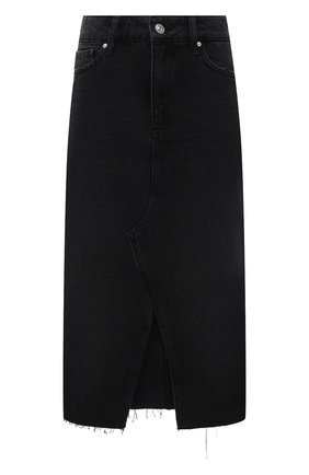 Женская джинсовая юбка PAIGE черного цвета, арт. 5567G82-8031   Фото 1