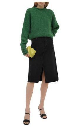 Женская джинсовая юбка PAIGE черного цвета, арт. 5567G82-8031   Фото 2