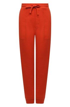 Женские хлопковые джоггеры NANUSHKA оранжевого цвета, арт. SHAY_MARSALA_0RGANIC FLEECE   Фото 1