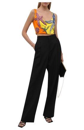 Женский бра-топ VERSACE разноцветного цвета, арт. A89176/A224536 | Фото 2