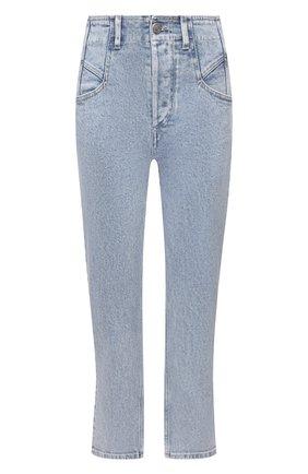 Женские джинсы ISABEL MARANT голубого цвета, арт. PA1910-21E019I/DILIANESR   Фото 1