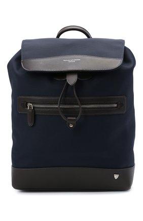 Мужской комбинированный рюкзак ASPINAL OF LONDON темно-синего цвета, арт. 011-2194_21940000 | Фото 1