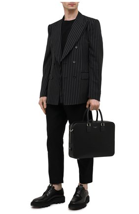 Мужская кожаная сумка для ноутбука ASPINAL OF LONDON черного цвета, арт. 011-1575_14210000 | Фото 2