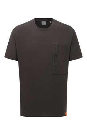 Мужская хлопковая футболка ASPESI серого цвета, арт. S1 A AY43 G454 | Фото 1