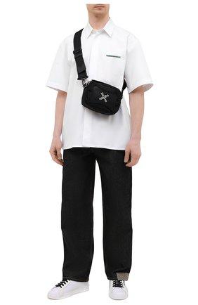 Мужская текстильная сумка KENZO черного цвета, арт. FA65SA218F21 | Фото 2