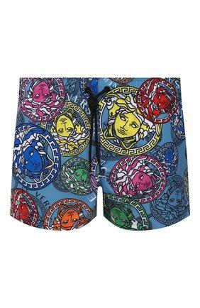 Мужские плавки-шорты VERSACE разноцветного цвета, арт. ABU90003/1F01221 | Фото 1
