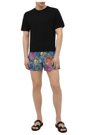 Мужские плавки-шорты VERSACE разноцветного цвета, арт. ABU90003/1F01221 | Фото 2