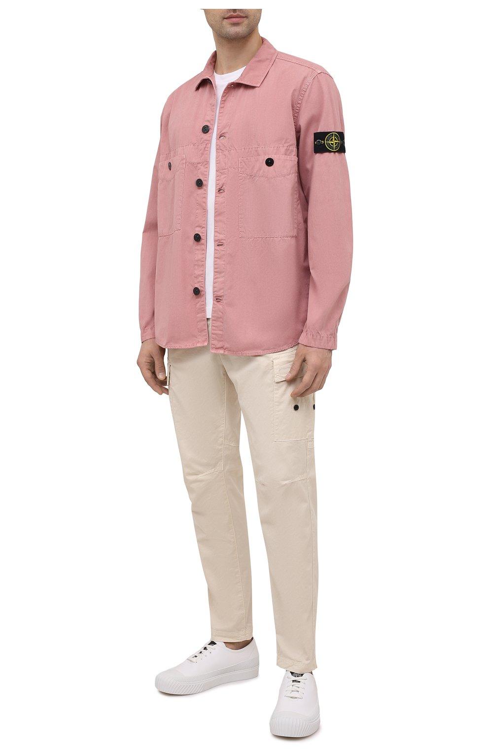 хлопковая мужская рубашка для пляжа