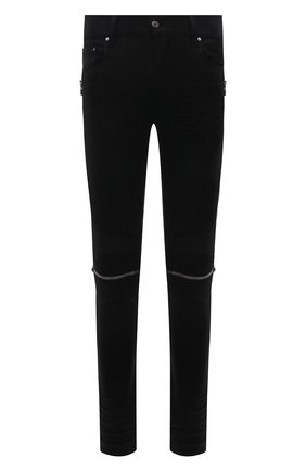 Мужские джинсы AMIRI черного цвета, арт. MDS010-002 | Фото 1