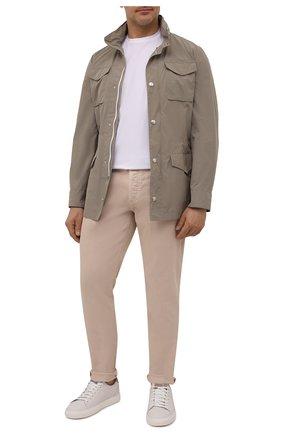 Мужские джинсы BRUNELLO CUCINELLI бежевого цвета, арт. M277PD2210 | Фото 2