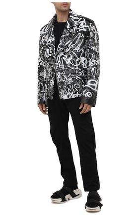 Мужские комбинированные кроссовки b-bold BALMAIN черного цвета, арт. VM0VH229/TKUD | Фото 2