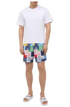 Мужские плавки-шорты MC2 SAINT BARTH разноцветного цвета, арт. STBM CAPRESE/CAP0001 | Фото 2