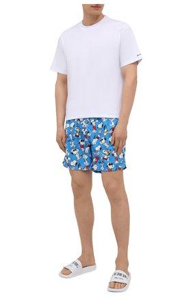 Мужские плавки-шорты MC2 SAINT BARTH синего цвета, арт. STBM GUSTAVIA/GUS0001 | Фото 2