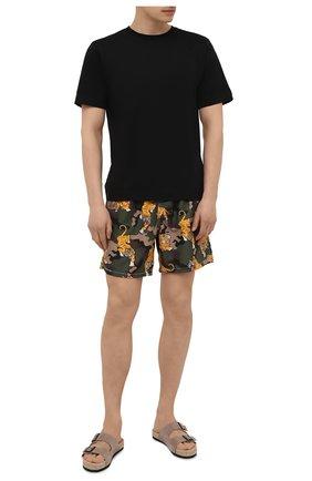 Мужские плавки-шорты MC2 SAINT BARTH хаки цвета, арт. STBM GUSTAVIA/GUS0001 | Фото 2