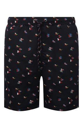 Мужские плавки-шорты PAUL&SHARK черного цвета, арт. 21415033/FH4 | Фото 1