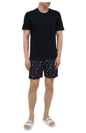 Мужские плавки-шорты PAUL&SHARK черного цвета, арт. 21415033/FH4 | Фото 2