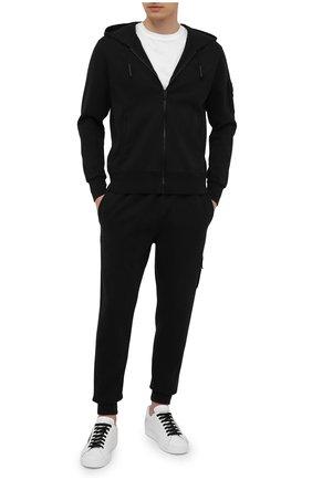 Мужские хлопковые джоггеры A-COLD-WALL* черного цвета, арт. ACWMB059 | Фото 2