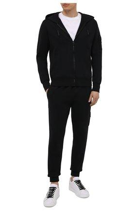 Мужской хлопковая толстовка A-COLD-WALL* черного цвета, арт. ACWMW031 | Фото 2