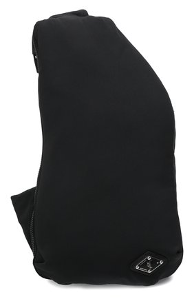 Мужская текстильная поясная сумка A-COLD-WALL* черного цвета, арт. ACWUG031   Фото 1 (Материал: Текстиль; Ремень/цепочка: На ремешке)
