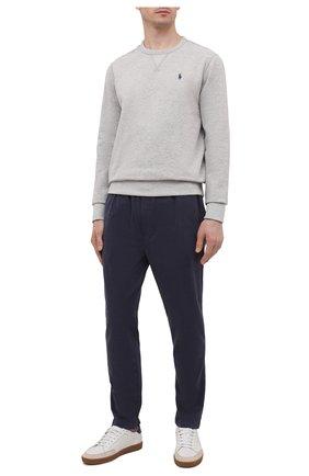 Мужские хлопковые брюки CITIZENS OF HUMANITY темно-синего цвета, арт. 7006-1166 | Фото 2