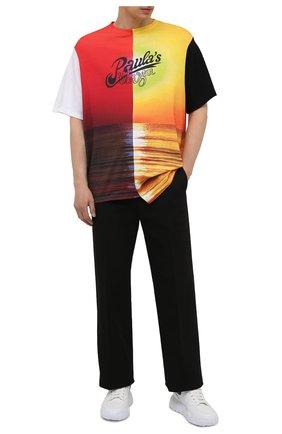 Мужская хлопковая футболка loewe x paula's ibiza LOEWE разноцветного цвета, арт. H616Y22J01 | Фото 2