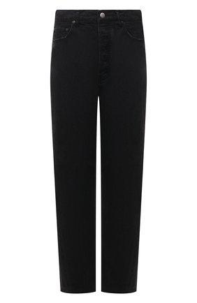 Мужские джинсы AMBUSH черного цвета, арт. BMYA009S21DEN001 | Фото 1