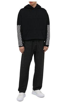 Мужские джинсы AMBUSH черного цвета, арт. BMYA009S21DEN001 | Фото 2