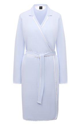 Женский хлопковый халат LE CHAT светло-голубого цвета, арт. ESSENTIELE60A | Фото 1