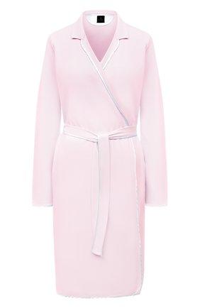 Женский хлопковый халат LE CHAT светло-розового цвета, арт. ESSENTIELE60A | Фото 1