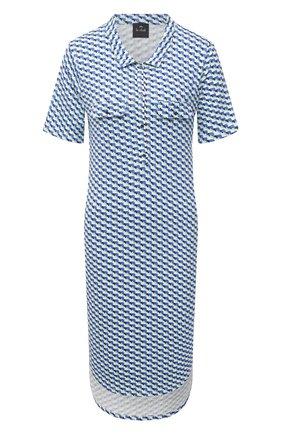 Женская сорочка из вискозы LE CHAT голубого цвета, арт. VITA141 | Фото 1