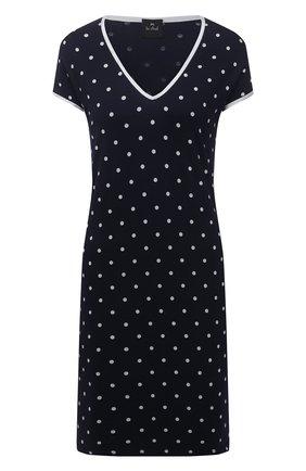 Женская сорочка из вискозы LE CHAT темно-синего цвета, арт. BELLAGIO101 | Фото 1