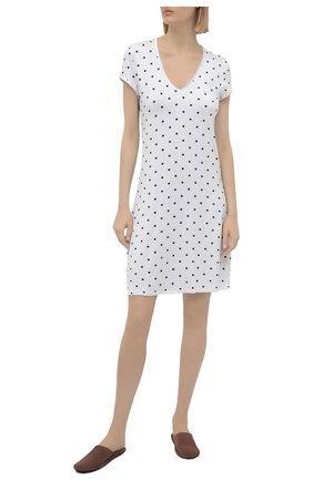 Женская сорочка из вискозы LE CHAT белого цвета, арт. BELLAGIO101 | Фото 2