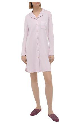 Женская сорочка LOUISFERAUD светло-розового цвета, арт. 3883031 | Фото 2