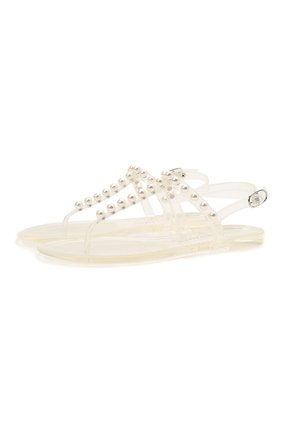 Женские сандалии STUART WEITZMAN прозрачного цвета, арт. S0822 | Фото 1