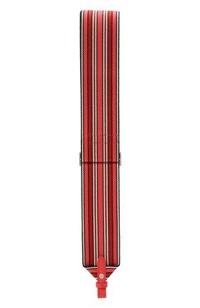 Женские ремень для сумки LORO PIANA кораллового цвета, арт. FAL7069 | Фото 2 (Ошибки технического описания: Нет высоты, Нет глубины; Размер: mini; Кросс-КТ: ремень-сумка; Материал: Текстиль)