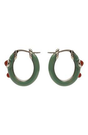 Женские серьги hydra CHLOÉ зеленого цвета, арт. CHC21UFE25LQC   Фото 1