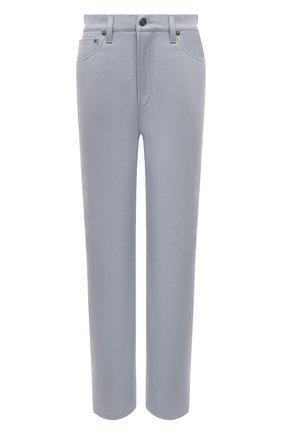 Женские брюки AGOLDE светло-голубого цвета, арт. A164-1285 | Фото 1