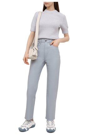 Женские брюки AGOLDE светло-голубого цвета, арт. A164-1285 | Фото 2