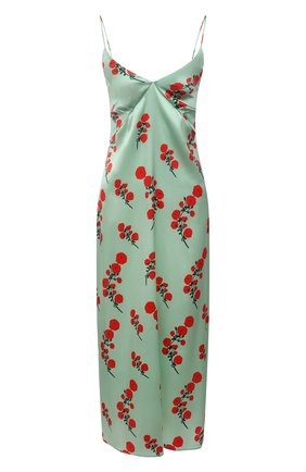 Женское шелковое платье BERNADETTE мятного цвета, арт. SS21-SLDRESS-JEA-SSASTR-4 | Фото 1