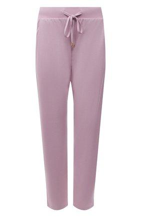 Женские брюки HANRO светло-розового цвета, арт. 077880 | Фото 1