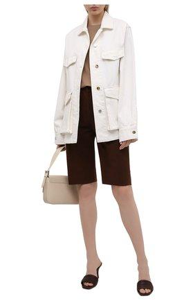 Женская джинсовая куртка TOTÊME белого цвета, арт. 212-108-748 | Фото 2